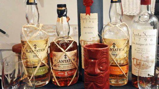 Rum degustazione Le Rune