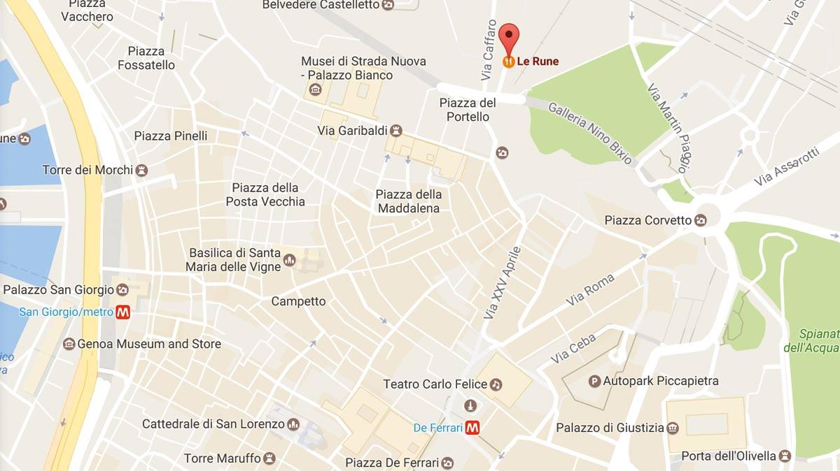 vicino a Piazza Portello Salita Inferiore Sant Anna Genova
