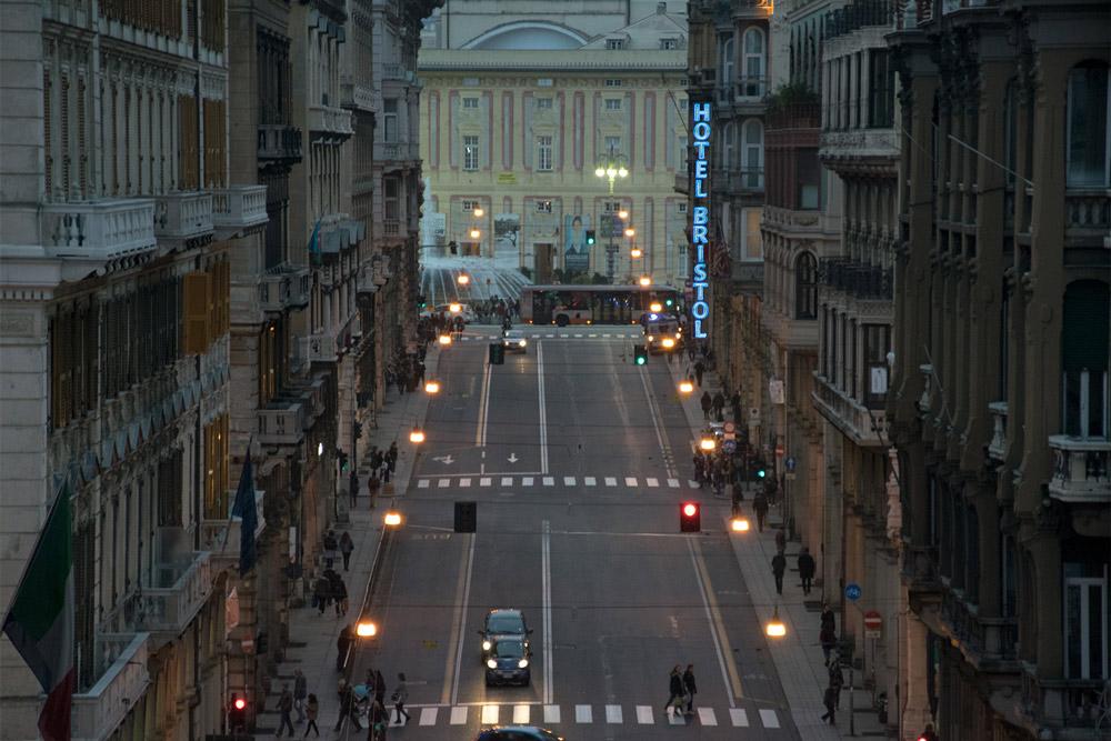 Via XX Settembre Genova